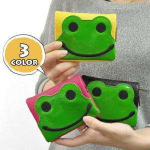 二つ折り財布 メンズ カエル 二つ折り 財布 レディース|s-rana