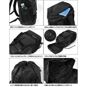 リュック リュックサック メンズ/THRASHER スラッシャー ブランド THRPN-8900/コーティング ボードストラップ フラップ|s-rana|04
