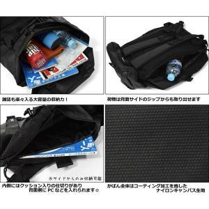 リュック リュックサック メンズ/THRASHER スラッシャー ブランド THRPN-8900/コーティング ボードストラップ フラップ|s-rana|05