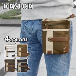 シザーバッグ シザーケース メンズ/DEVICE デバイス/クロスロード 帆布 2way