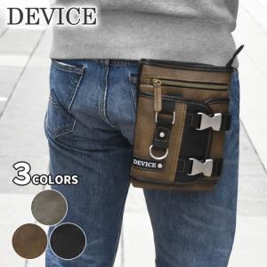 シザーバッグ シザーケース メンズ/DEVICE デバイス/フェイクレザー メタルバックル 2way