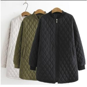 中綿ジャケット レディース ブルゾン 大きいサイズ シャケット アウター 冬 防寒の画像