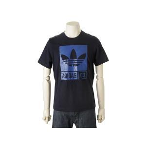 アディダス adidas オリジナルス Tシャツ AJ7719 Uネック 半袖 ブラック S|s-select