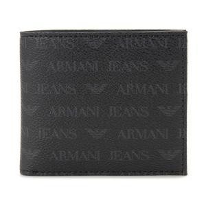 アルマーニジーンズ ARMANI JEANS 二つ折り財布 938540-CC996-00020 ブラック メンズ s-select