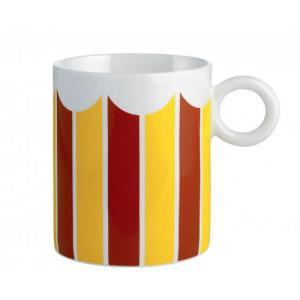 アレッシィ ALESSI 食器 CIRCUS サーカス マグカップ 350ml コップ カラフルな磁器製のマグ コーヒーカップ|s-select