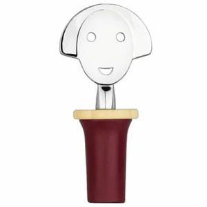 アレッシィ ALESSI 食器 Anna アンナ ボトルキャップ レッド ワイン キャップ ストッパー 栓|s-select