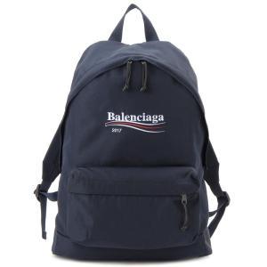 バレンシアガ BALENCIAGA リュック 459744-9D0E5-4100 XPLORER エクスプローラー バックパック ネイビー 新品【送料無料】|s-select