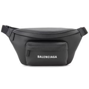 バレンシアガ BALENCIAGA ボディバッグ 552375-DLQ4N-1000 エブリデイ ウエストバッグ ブラック 新品|s-select