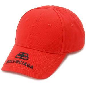 バレンシアガ BALENCIAGA キャップ 帽子 Lサイズ メンズ レッド 577548310B26560 ロゴキャップ s-select