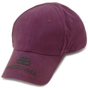バレンシアガ BALENCIAGA キャップ 帽子 Lサイズ メンズ レッド 577548410B25060 ロゴキャップ s-select