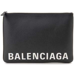 バレンシアガ BALENCIAGA クラッチバッグ 579550 0OTN3 1060 ドキュメントケース ブラック メンズ レディース 【送料無料】|s-select