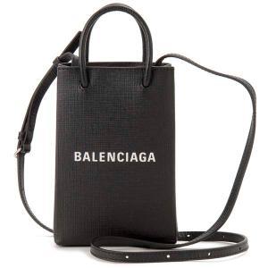 クリアランスセール バレンシアガ BALENCIAGA ショルダーバッグ レディース ブラック 593826 0AI2N 1000 SHOPPING ショッピング レザーバッグ|s-select