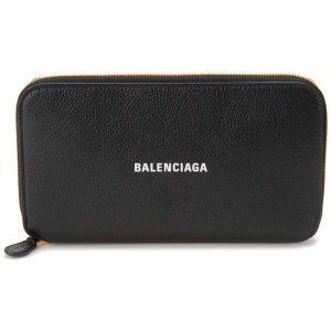 バレンシアガ BALENCIAGA ラウンドファスナー長財布 ブラック 594290 1IZIM 1090 キャッシュ コンチネンタル|s-select