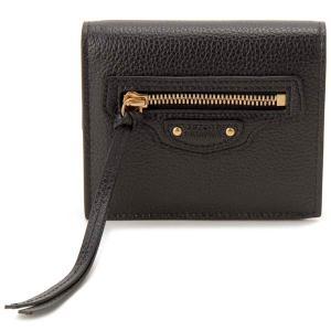 バレンシアガ BALENCIAGA 二つ折り財布 ブラック 640111 15Y0I 1000 ネオクラシックウォレット|s-select