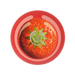 ザ・ボディショップ ストロベリー ボディバター 200ml ボディクリーム ココナッツオイル配合 ボディケア 保湿 弱酸性|s-select