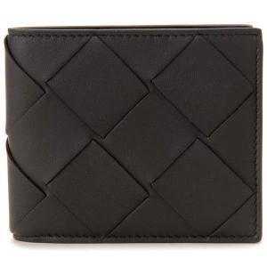 ボッテガヴェネタ Bottega Veneta 二つ折り財布 ブラック 113993 VO0BI 1000 イントレチャート|s-select