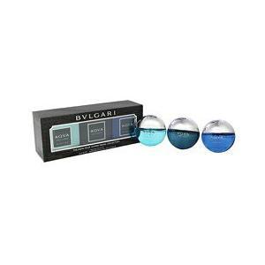 ブルガリ BVLGARI メンズ 香水セット アクアプールオム 香水 ミニボトル 3P 15ml×3 ギフト  (香水/コスメ)|s-select