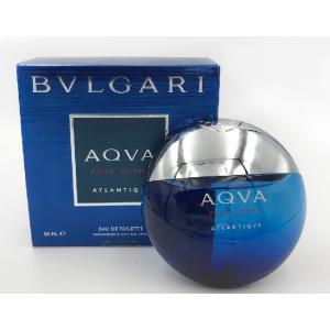 ブルガリ BVLGARI アクア プールオム アトランティック EDT オードトワレ 50ml メンズ フレグランス 【香水/コスメ】|s-select