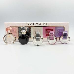 ブルガリ BVLGARI 香水 レディース ウーマンズ ギフト コレクション N1 ミニチュアセット 5ml×5本  ミニ香水|s-select