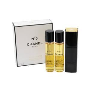 シャネル CHANEL No.5 オードトワレ 20ml SP レフィルx2 レディース 香水 フレグランス コスメ  女性用 香水 (香水/コスメ)|s-select