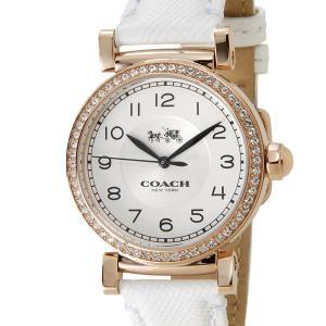 COACH コーチ レディース 腕時計 14502401 MADISON FASHION マディソン ファッション ホワイト|s-select