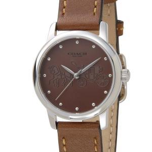 コーチ COACH レディース 腕時計 14502978 GRAND グランド ブラウン 新品 【送料無料】|s-select