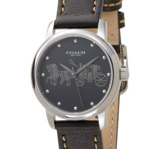 アーリーサマーセール コーチ COACH レディース 腕時計 14502979 GRAND グランド ブラック 黒 新品 【送料無料】|s-select