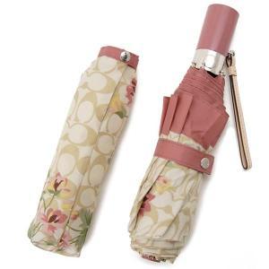 コーチ COACH 傘 レディース F75786 SVP19 折りたたみ傘 日傘 兼用 花柄 ピンク s-select