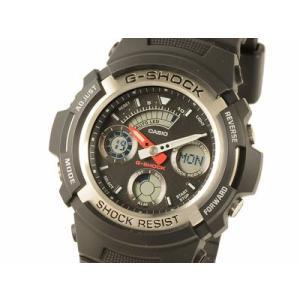 カシオ CASIO G-SHOCK海外モデル デジアナタイプ AW-590-1ADR 時計|s-select