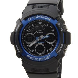カシオ CASIO G-SHOCK Gショック AW-591-2ADR デジアナ ブラック メンズ 腕時計 新品 送料無料