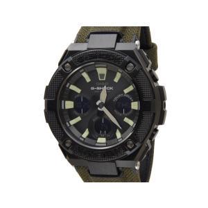カシオ Gショック CASIO G-SHOCK メンズ 腕時計 GST-S130BC-1A3 DR G-STEEL Gスチール グリーン 送料無料 s-select