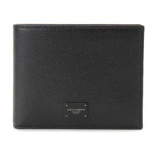 売り尽くしセール DOLCE&GABBANA ドルチェ&ガッバーナ 二つ折り財布 BP0457 AI359 8B956 ブラック メンズ|s-select