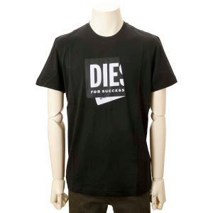 クリアランスセール ディーゼル DIESEL Tシャツ メンズ ブラック A023780 HAYU 9XX ブランド ロゴTシャツ s-select