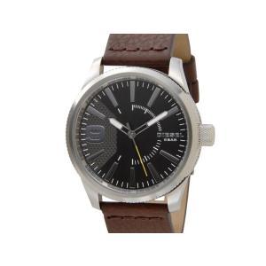 令和セール ディーゼル DIESEL 時計 DZ1802 Rasp ラスプ グレー レザーベルト メンズ 腕時計 新品|s-select