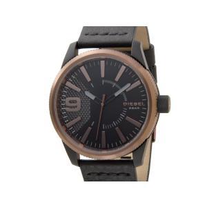 ディーゼル DIESEL 時計 DZ1841 Rasp ラスプ ブラック レザーベルト メンズ 腕時計【送料無料】|s-select