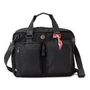 デザルティカ DESERTIKA ブリーフケース KAVERUST-LH 3WAY ビジネスバッグ リュック ブラック メンズ|s-select