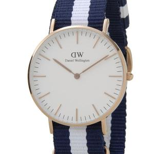 ダニエル ウェリントン Daniel Wellington 腕時計 DW00100031 0503DW クラシック グラスゴー/ローズ 36mm 新品 送料無料