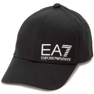 クリアランスセール エンポリオアルマーニ EMPORIO ARMANI EA7 キャップ 帽子 メンズ ブラック 275936 スポーツライン s-select