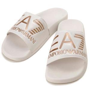 クリアランスセール エンポリオアルマーニ EMPORIO ARMANI EA7 シャワーサンダル ホワイト メンズ レディース XCP001 s-select