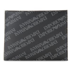 エンポリオ アルマーニ EMPORIO ARMANI 二つ折り財布 Y4R165 YLO7E 86526 ブラック メンズ 財布【送料無料】 s-select