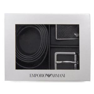 エンポリオ アルマーニ EMPORIO ARMANI ベルト メンズ 4S225-YMB4E-88001 リバーシブル 替えバックル 新品【送料無料】 s-select