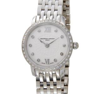 訳あり 外箱キズ フレデリック・コンスタント FREDERIQUE CONSTANT スリムライン ミニ FC-200WHDSD6B 腕時計 レディース|s-select