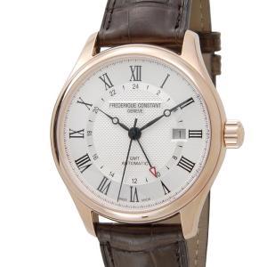 訳あり 外箱キズあり フレデリック・コンスタント Frederique Constant メンズ 腕時計 FC-350MC5B4 クラシック オ-トマチック GMT 新品|s-select