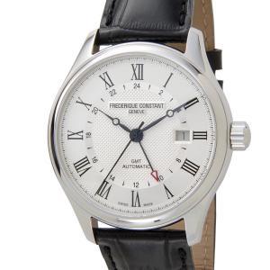 訳あり 外箱キズあり フレデリック・コンスタント FREDERIQUE CONSTANT クラシック GMT FC-350MC5B6 腕時計 メンズ 新品【送料無料】|s-select