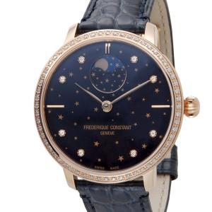 訳あり 外箱キズ フレデリック・コンスタント Frederique Constant メンズ 腕時計 FC-701NSD3SD4 スリムライン ムーンフェイズ 新品|s-select