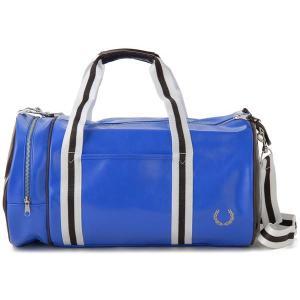 フレッドペリー ドラム ボストンバッグ ブルー FRED PERRY 1121 969 ブランド|s-select