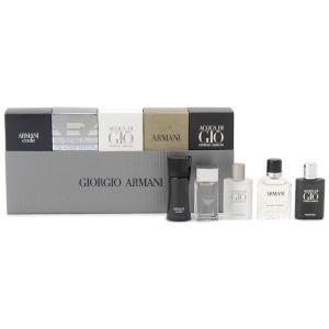ジョルジオ アルマーニ GIORGIO ARMANI メンズ 香水セット アクアディ ジオ 香水 5P ミニボトル ギフト (香水/コスメ)|s-select