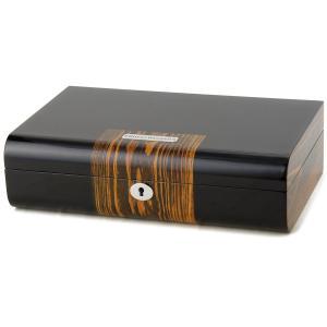 ロイヤルハウゼン 時計収納ケース 腕時計 10本収納 ケース Royal hausen GC02-LG2-10 ウォッチケース ブラック×ブラウン 時計雑貨|s-select