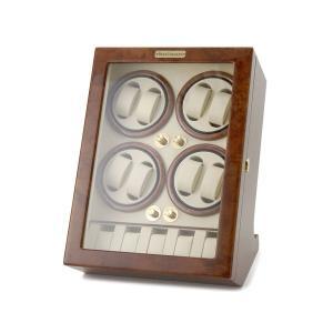 ロイヤルハウゼン ワインダー 時計収納ケース付きワインダー8本巻5本収納 Royal hausen GC03 Q88 ワインディングマシーン 腕時計/自動巻き機 2年保証|s-select
