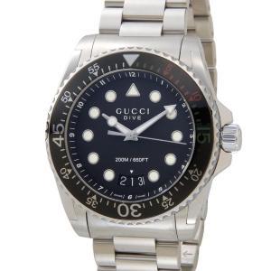 グッチ GUCCI 時計 YA136208 Swiss Dive ダイブ ブラック メンズ 腕時計【送料無料】|s-select